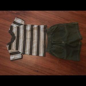 Tad Little Shirt & Short Set, size 12 months